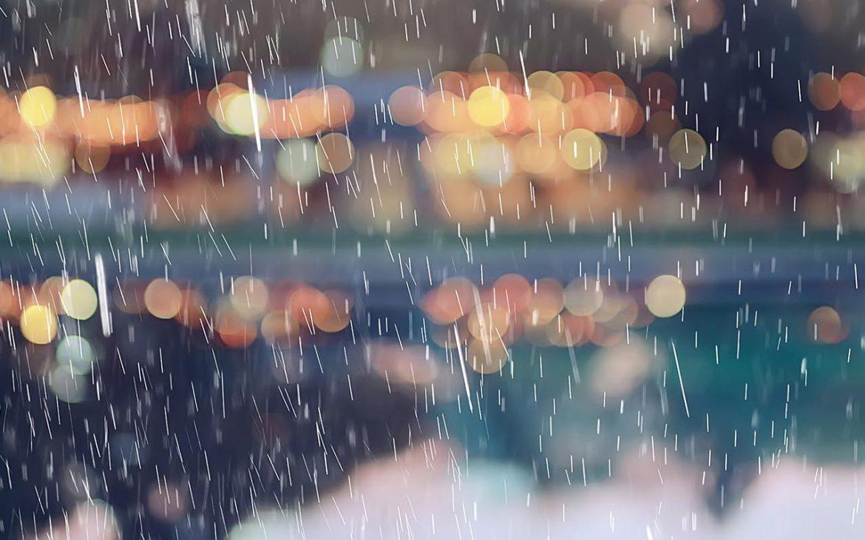 rain + it's still may