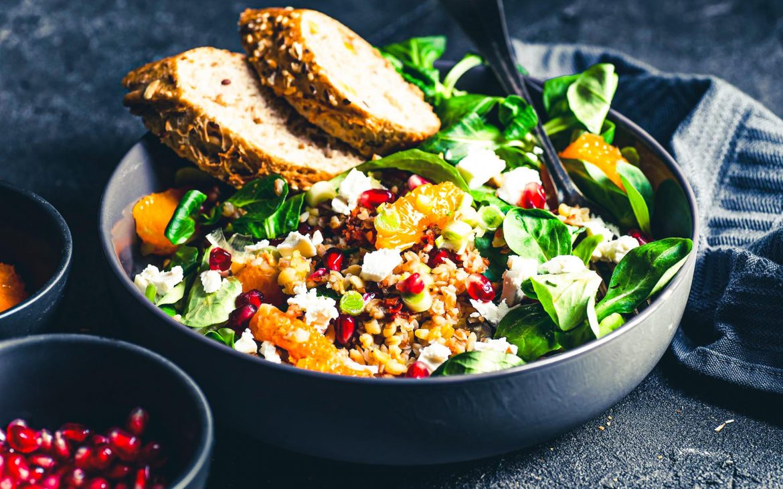 salad (aka: its accoutrements)
