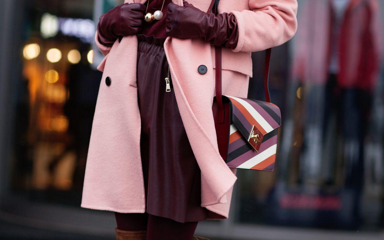 pink + brown